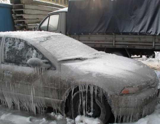 Брянских водителей предупредили о последствиях ледяных дождей