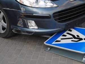 В центре Брянска юный водитель сбил на «зебре» пенсионерку