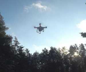 За брянским лесом присмотрит квадрокоптер
