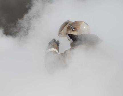 В Брянске дым окутал многоэтажку