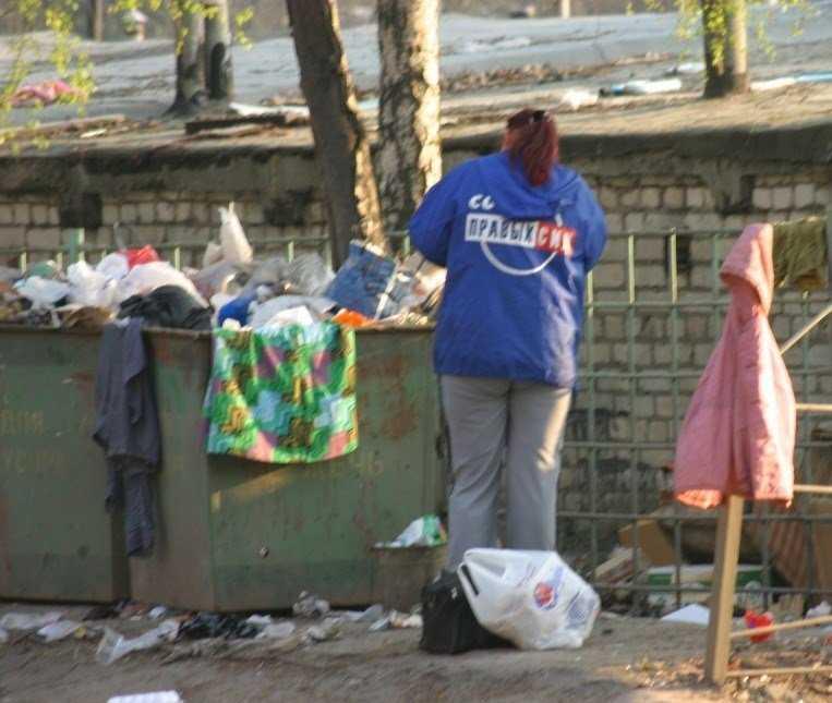 Коммунальщики брянского райцентра забыли про мусор