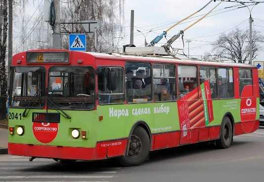 В Володарском районе Брянска отключат троллейбусы