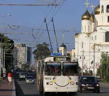 Троллейбусы в Брянске вышли на линию — свет не отключили