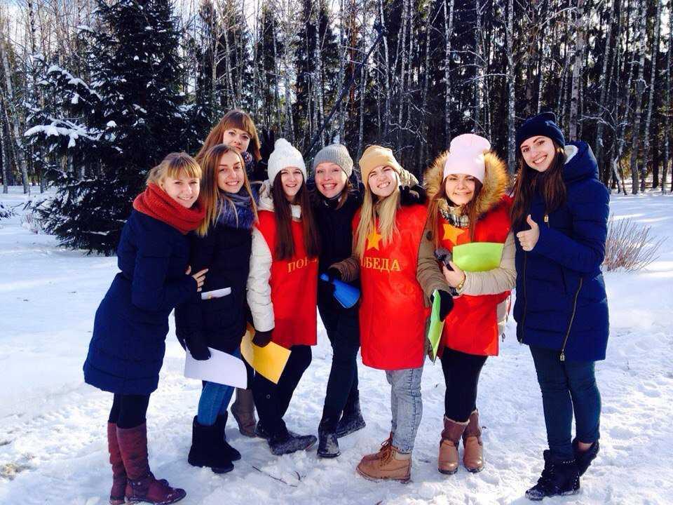 Брянские студенты отметили Татьянин день в «Салыни»