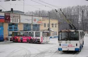 Сжавшееся троллейбусное депо Брянска закроют