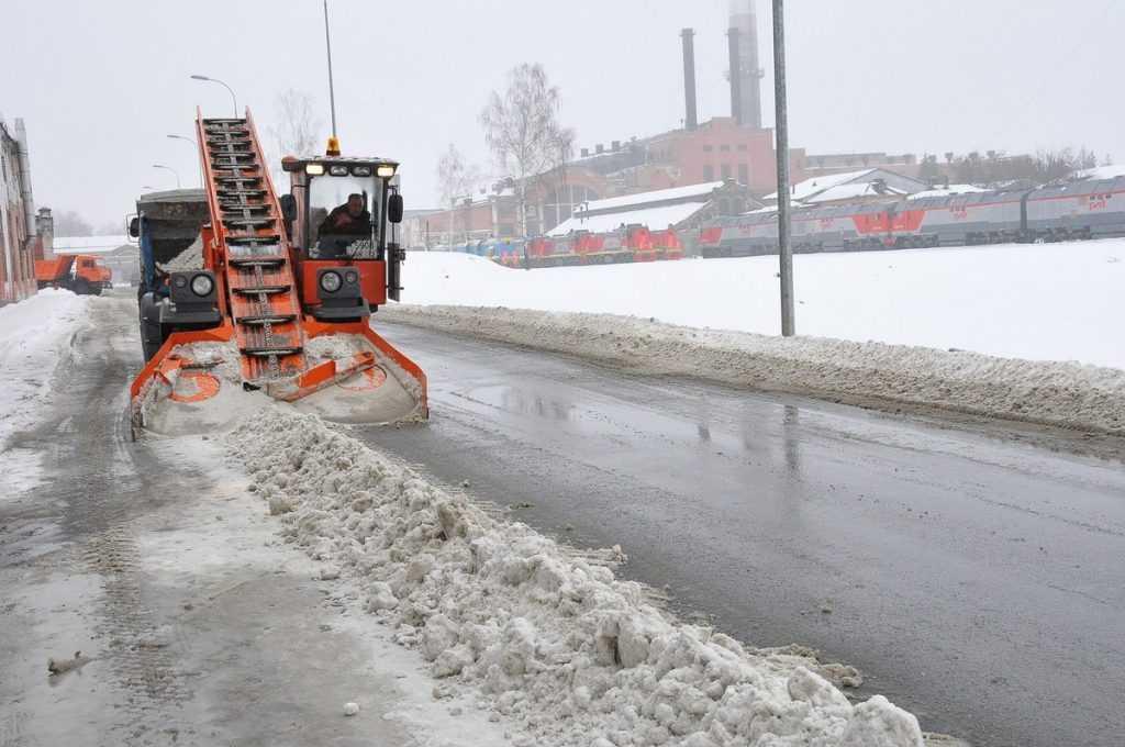 Капризы погоды не застали Брянский машиностроительный завод врасплох