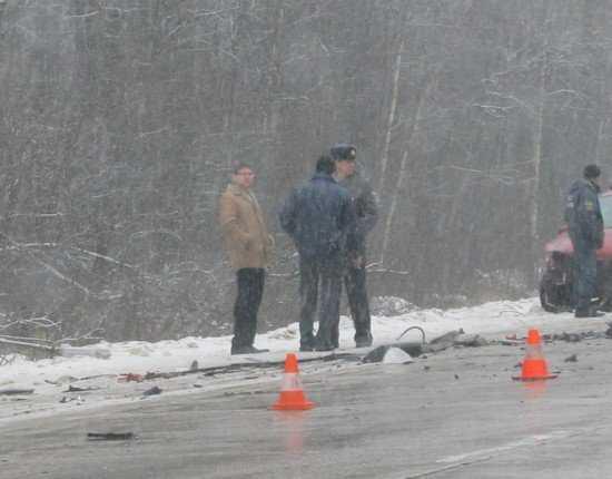 Три человека погибли, два ранены в ДТП на брянской трассе