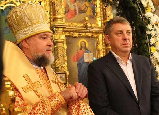 В Клинцах с участием брянского губернатора прошла Рождественская служба