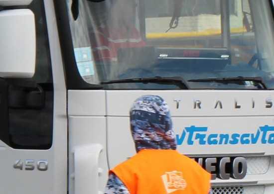 Под Брянском остановили 30 украинских фур