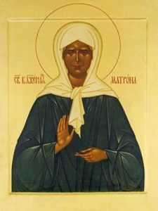 В брянский собор привезут мощи Матроны Московской