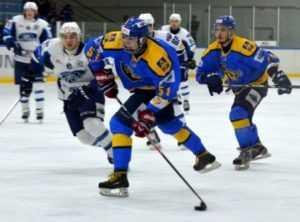 Хоккейный «Брянск» проиграл лидеру, но не выпал из восьмёрки