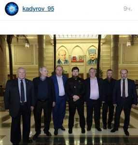 Эксперты Изборского клуба встретились с Рамзаном Кадыровым