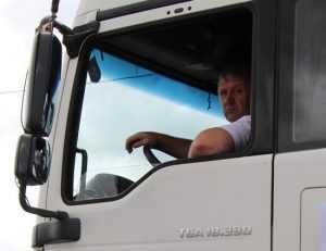 Украинские националисты заявили о девяти задержанных брянцами фурах
