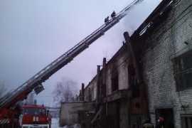 В Брянске на Сталелитейной произошел крупный пожар