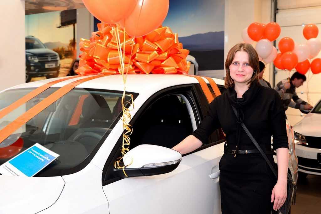 Покупательница брянского гипермаркета ОБИ выиграла «Фольксваген»