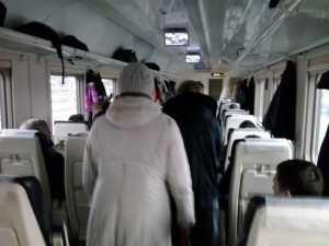 Поезд выходного дня атакован соскучившимися брянцами
