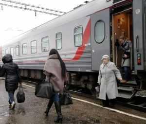 Поезд выходного дня Москва – Брянск сделал первые рейсы