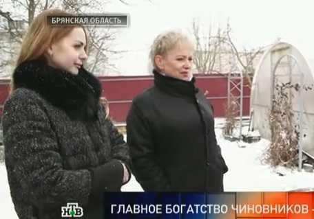 НТВ показал, как живет супруга брянского губернатора