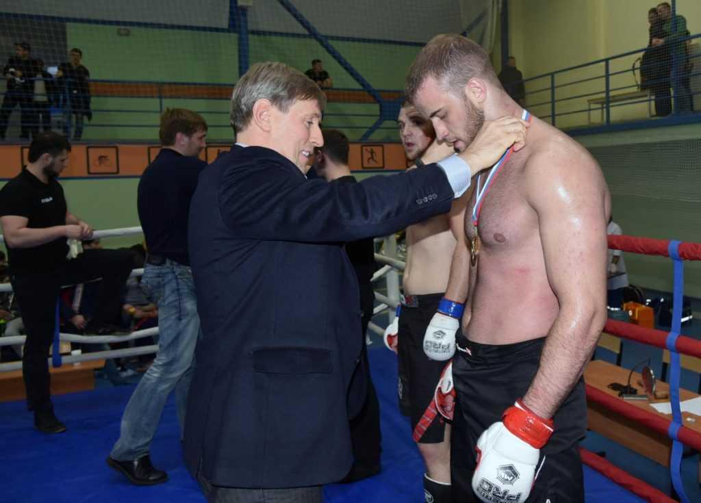 В Брянске при поддержке Виктора Гринкевича прошел чемпионат бойцов