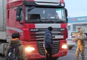 За брянских дальнобойщиков на Украине вступились коллеги