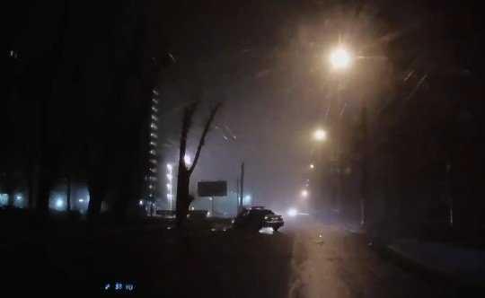 Опубликовано видео погони брянских полицейских за нарушителем