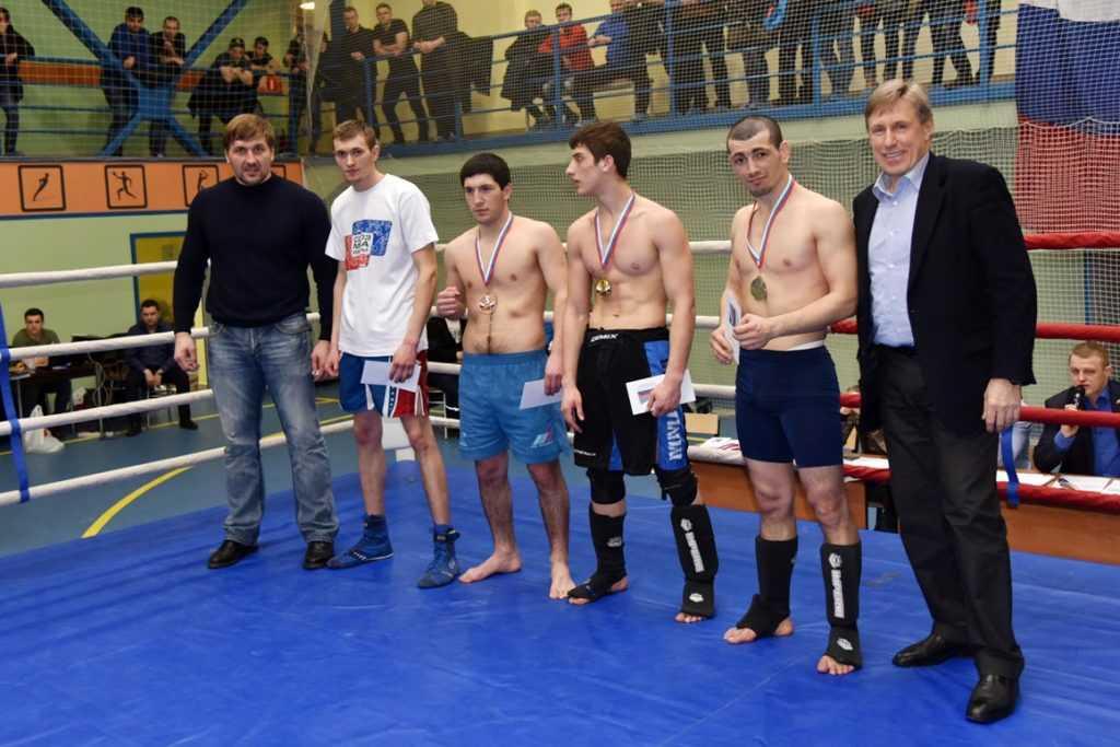 В Брянске завершился чемпионат по единоборствам