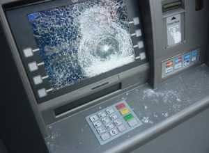 Полиция задержала брянца, разбившего банкомат