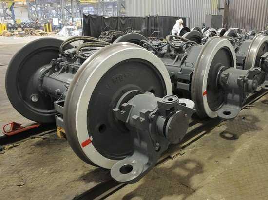 БМЗ начал выпуск колесно-моторных блоков c моторно-осевыми подшипниками