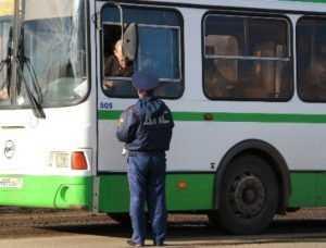 Брянские гаишники займутся водителями автобусов