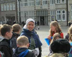 В Брянск прибыли немецкие школьники