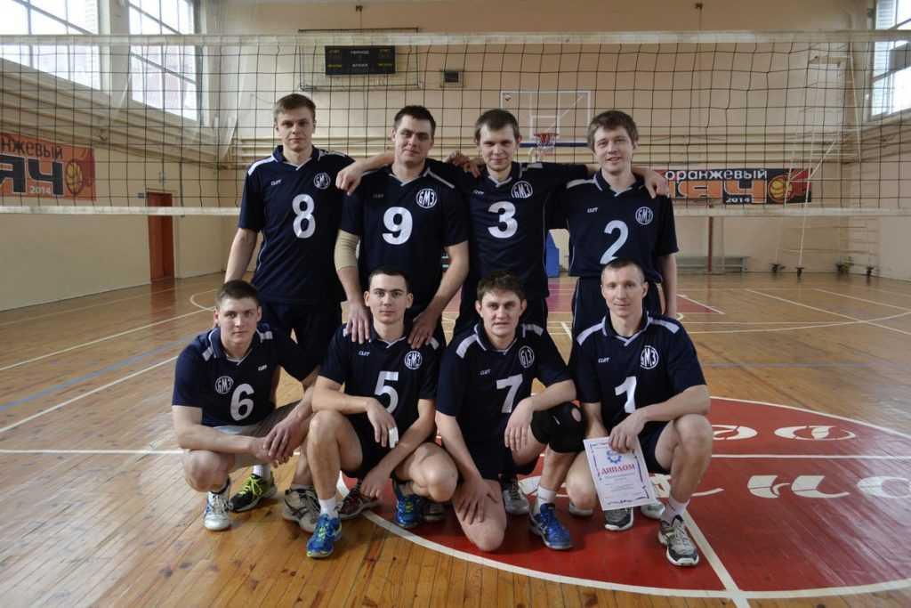 Спортсмены Брянского машзавода стали лучшими волейболистами