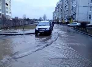 Брянск частично утонул
