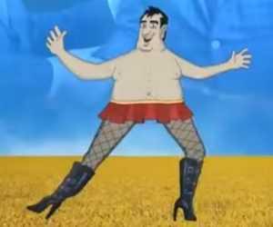 Лабутены Саакашвили: под кокаином, вах! – и восхитительных штанах