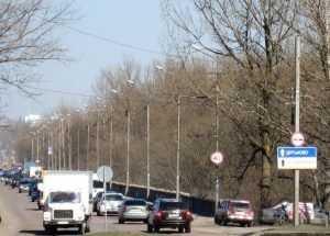 Брянским автомобилистам ограничили скорость на Литейном мосту