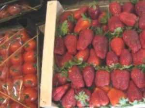 Чекисты нашли запрещённые помидоры на брянском рынке