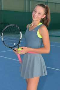Брянская теннисистка Влада Коваль уехала в Подмосковье