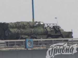 Киев направил к Крыму ракетные установки C-300