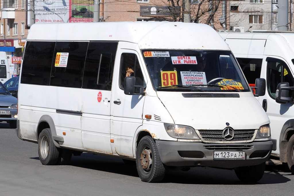 Власти прошлись плетью по брянским маршрутчикам