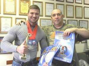 Брянский силач завоевал Кубок Чемпионов Европы