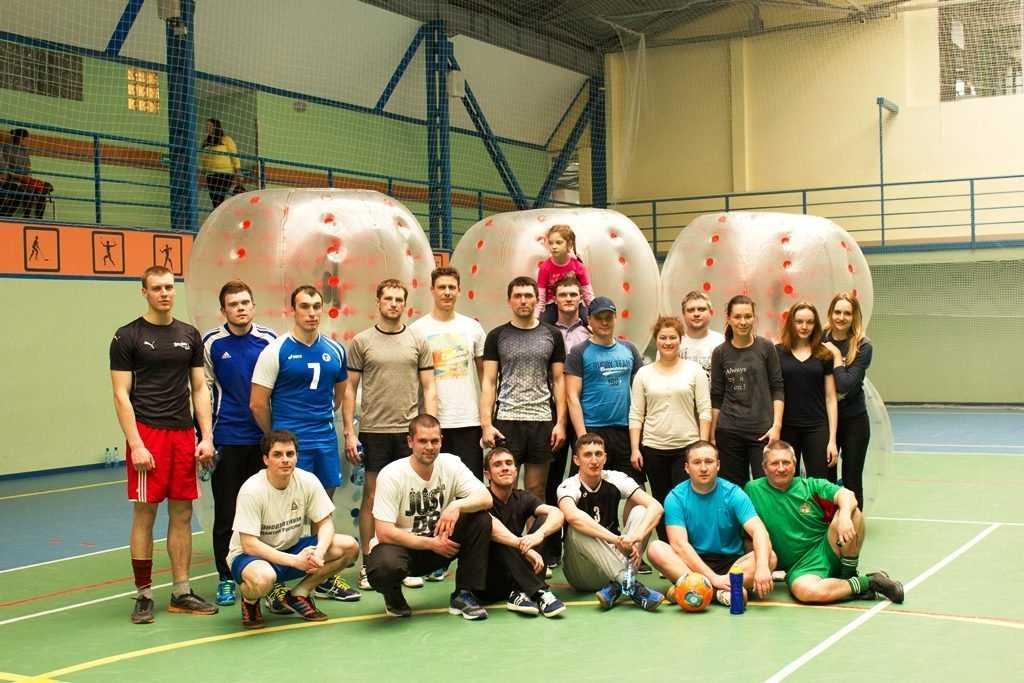 Брянские энергетики провели веселый турнир по бамперболу