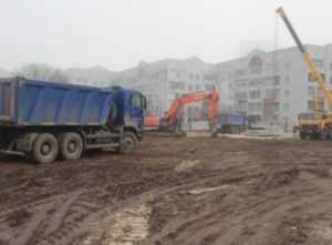 В Брянске начали строительство нового здания прокуратуры
