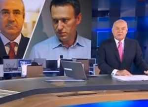Телеканал «Россия 1» рассказал о тайной переписке агента Навального