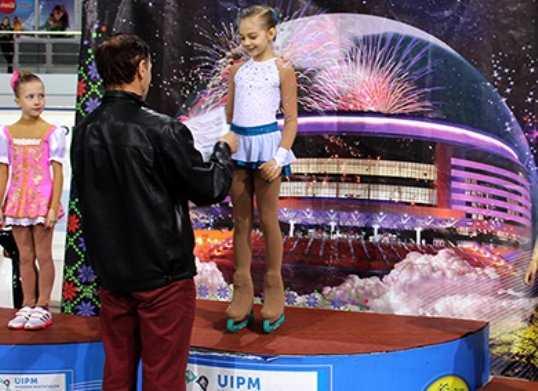 Брянская фигуристка победила на первенстве Белоруссии