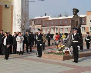 В Брянске отпраздновали 55-летие космического полета Юрия Гагарина