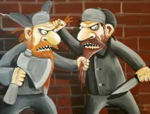 Отправлен под суд брянец, прикончивший гостя за оскорбление жены