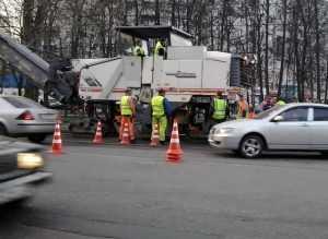 Ремонт смоленской трассы повлек заторы в Брянске