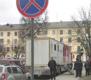 Водителя брянской «Службы крови» наказали за незаконную парковку