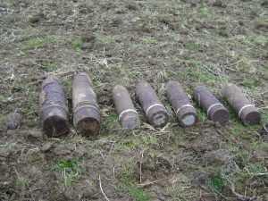 У брянских Красных Партизан отыскали 20 снарядов
