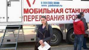 Брянцы поделились 100 литрами крови