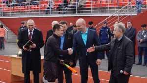 Матчем брянских футболистов в Трубчевске открыли новый стадион